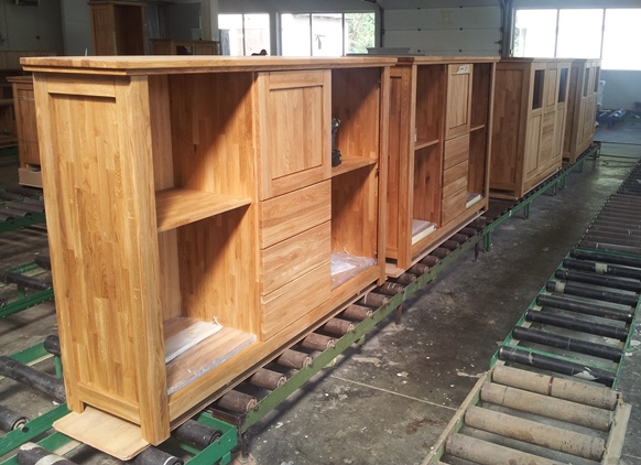 Dubový nábytok - výroba
