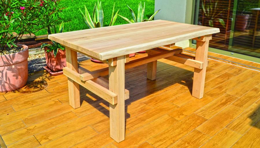 f0f2ed138481 záhradný stôl drevený