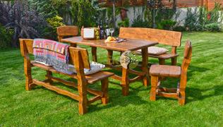 Zahradné sedenie